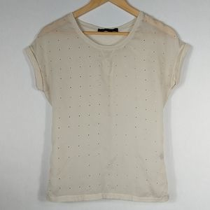 The Limited Embellished T Shirt Sheer XS
